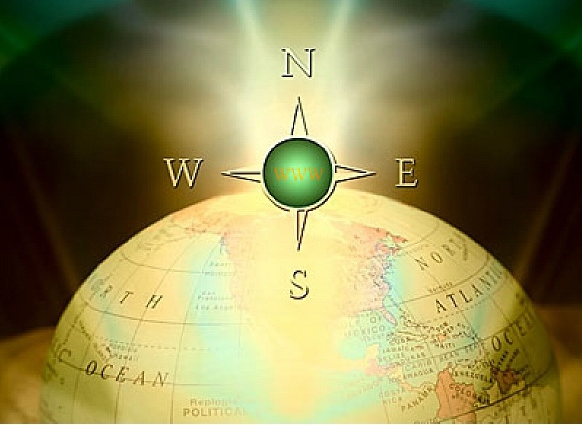 compass globe